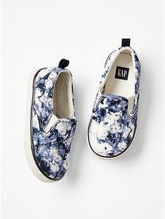Printed slip-on snea
