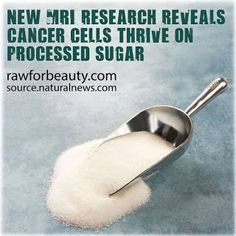 Natural Cures Not Medicine: Research Shows Cancer Cells Thrive on Sugar
