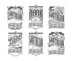 We developed a logo and three beer labels for VonB Breweries by MUTI