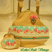 "Bolso vintage ""Wooden Doll"""