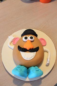 @Susan Caron Caron Harberson  Mr. Potato Head cake