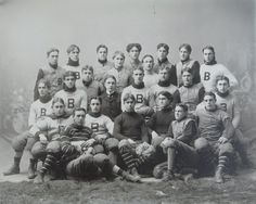 1897 Bowdoin College football team - from the Maine Historical Society College Football Uniforms, Sports Uniforms, School Football, Football Fans, Team Photos, Sports Photos, Bowdoin College, Football Pictures, Vintage Men