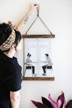 Si buscas una forma original de colgar tus fotos favoritas, ¡no pierdas de vista este DIY!