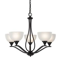 Found it at Wayfair - Gallimore 5-Light Shaded Chandelier
