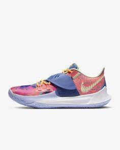 "Kyrie Low 3 ""Harmony"" Basketball Shoe. Nike.com Basketball Shoes Kyrie, Kyrie 3, Pink Stone, Air Zoom, Blue Fashion, Nike, Bbc, Stylish, Heels"