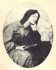 Elizabeth Siddal, the one and only surviving photo. It's quite disappointing really compared to the lovely images Rossetti made of her. But still quite thrilling for a Pre-Raphaelite geek like me.