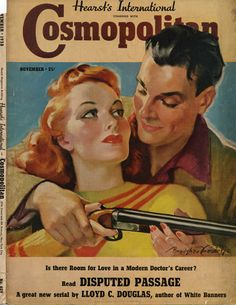 vintage cosmopolitan magazine cover from 1938