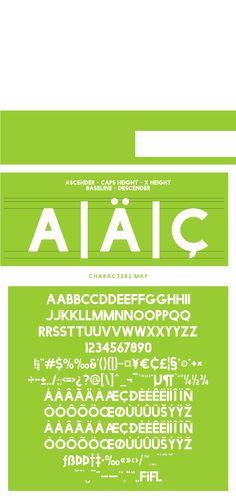 Facile sans | capital letter font | #free sans Serif font