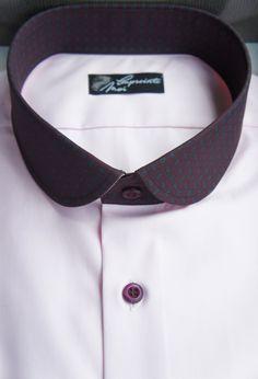 Chemise homme rose à motifs - Empreinte Moi. Retrouvez tous nos modèles sur www.empreinte-moi.com et créez votre chemise sur-mesure avec notre configurateur