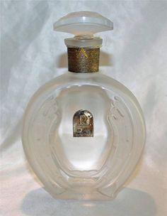 "Rare Vintage Rigaud ""Un Air Embaume"" New York Paris Perfume Bottle"