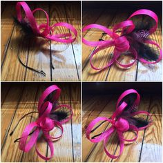 Dee's Presents: Make a Fascinator with Yard of Sinamay! Sombreros Fascinator, Fascinator Headband, Feather Headpiece, How To Make Fascinators, Wedding Fascinators, Headpieces, Kentucky Derby Fascinator, Kentucky Derby Hats, Sinamay Hats