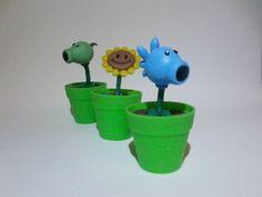 http://fun-bit.lojaintegrada.com.br/ Vasinhos decorativos Plants vs. Zombies