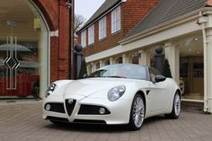 Looking for the Alfa Romeo of your dreams? There are currently 296 Alfa Romeo cars as well as thousands of other iconic classic and collectors cars for sale on Classic Driver. Alfa Romeo 8c, Alfa Romeo Spider, Alfa Romeo Cars, Classic Sports Cars, Classic Cars, Convertible, Ferrari 458, Automotive Design, Cars Motorcycles