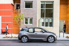BMW i3 | BMW in Colorado | BMW in Denver | BMW | Bimmer | Denver Skyline | Downtown Denver | Denver | electric cars | cars | car photography | sunset photography | Sheer Driving Pleasure | drive | Schomp BMW