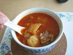 Hong Kong cafe style broscht soup