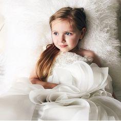 """Beautiful Harlow in Mischka Aoki 'She's Beautiful' dress. Regram from @thedaddyfashionstylist #mischkaaoki"""