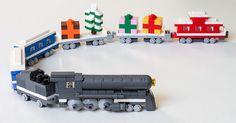 ~ Lego Mocs Holidays ~ MOC of the Week: LEGO Christmas Train - BrickExtra