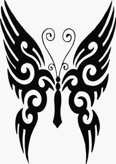 wir empfehlen ihnen einen blick auf dies idee für einen ganz tollen schwarzen fliegenden schmetterling tattoo zu werfen