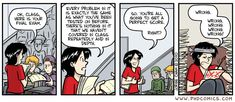 PHD Comics: I feel like this sometimes with my students...