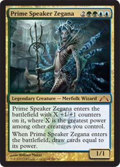 mtg Magic the Gathering blue green simic deck