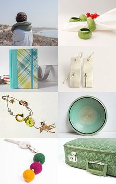 Green Christmas for Hope and Joy by Mariana Lage on Etsy--Pinned with TreasuryPin.com #PTteamEtsy #ChristmasColorsProject #EtsyEurope #Portugal