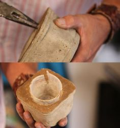 more DIY concrete vases/candle holders/decorations - attempting this weekend