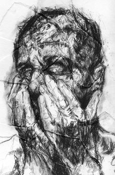 alison Lambert Advanced Higher Art, Mental Health Art, Scribble Art, Charcoal Art, High Art, Horror Art, Life Drawing, Portrait Art, Dark Art