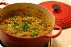 spinach and lentil dal by Jo Ha Na Na, via Flickr