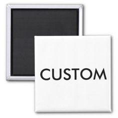 #createyourown #customize - #Custom Personalized Refrigerator Magnet Blank