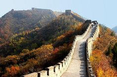 Walk The Great Wall of China Great Wall Of China, China Wall, China China, Places To See, Places Ive Been, I Want To Travel, Pathways, Vacation Spots, The Magicians