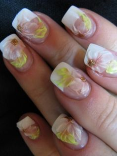 Wedding Nails, Bridal Nail Art Ideas - Bridal Nail Designs For Your Wedding Day. Invite glances on your bridal nails done by wedding nail art designers. Bridal Nails Designs, Bridal Nail Art, Cute Nail Designs, Acrylic Nail Art, Acrylic Nail Designs, Really Cute Nails, Pretty Nails, Solar Nails, Nails First