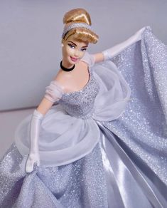 Disney Barbie Dolls, Disney Princess Dolls, Barbie Wedding Dress, Barbie Dress, Cinderella Doll, Beautiful Barbie Dolls, Doll Costume, Barbie World, Princesas Disney