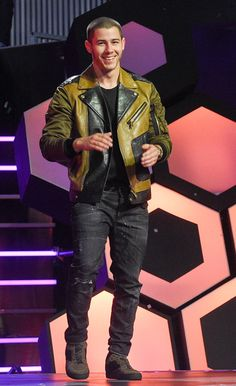 Nick Jonas at the 2016 iHeartRADIO MuchMusic Video Awards at MuchMusic HQ on June 19, 2016 in Toronto, Canada.