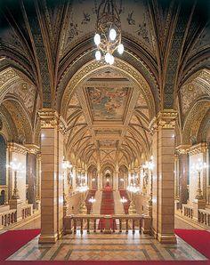 Hungarian Parliament - Interior