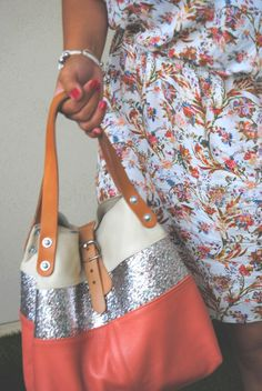 Sac Estellon Corail