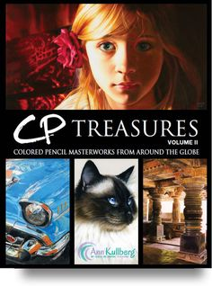 My friend  Tess Lee Miller has her colored pencil painting in this book!