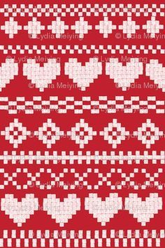 Another possible reversible knitting pattern fairisle pattern. Another possible reversible knitting pattern Fair Isle Knitting Patterns, Fair Isle Pattern, Knitting Charts, Knitting Socks, Knitting Designs, Knitting Stitches, Knit Patterns, Knitting Projects, Stitch Patterns