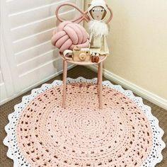 A sweet collection of birthday gifts for a sweet little 2yrs. The Blush Crush Crochet Floor Rug looking fabulous in her new home 💝 thanks Marcella Apollonia for sharing 😀 .  #bunyetskahandmade #crochetfloorrug #crochetrug #doilyrug #tshirtyarn #watg #jerseybegood #girlsroom #extremecrochet #kidsdecor #contemporarycrochet #etsyau #etstseller #handsandhustle #craftsposure #chunkyyarn #hoooked #etsyshopowner #shareyourcrochet #shareyourknits #yarnstagram #ecofriendly #recycledmaterials #ourmakerlife...