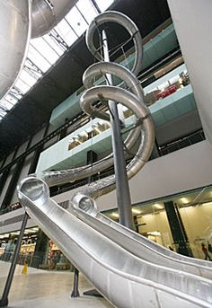 Tate Modern in London slide instillation. Wish I was there then