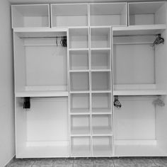 Latest DIY Project: Closet In a Cube. Made out of MDF 15mm. #proud #and #organized