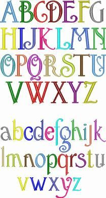 Francisco Embroidery Font   Apex Embroidery Designs, Monogram Fonts & Alphabets