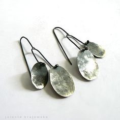 earrings two of us sterling silver