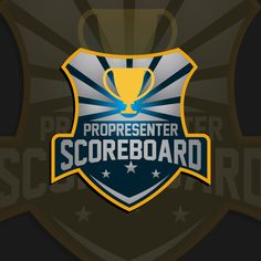 Create a product logo for sports scoreboard software by QR#C(O)1E