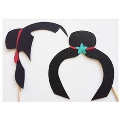 Mulan Inspired Photo Booth Props ; Under the Sea Party ; Prince and Princess ; Disney Birthday Party ; Disney Party Decorations by Lets Get Decorative