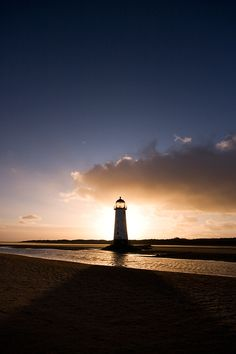 Talacre Beach Lighthouse by Tom Jones