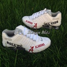 Womens Alabama Nike Shox by BlinginBlitz on Etsy