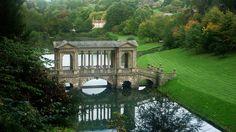 Palladian Bridge: Prior Park Landscape Garden, Combe Down, Bath, England