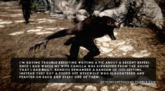skyrim+ondolemar   having trouble resisting writing a fic about a recent ...