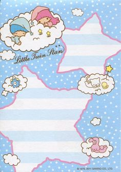 【2011】Memo Pad (Manufactured by Hong Kong) ★Little Twin Stars★
