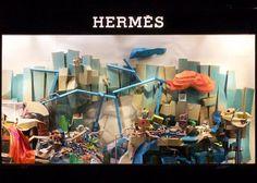 Hermès Korea show window DISPLAY